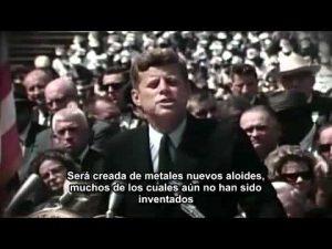 """""""Llegaremos a la luna en esta década""""de J. F. Kennedy.Ejemplos y aplicaciones del relato del cambio"""